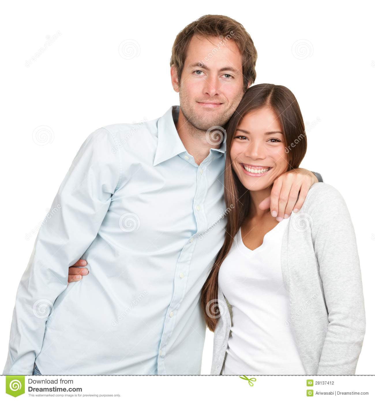 Happy Young Couple Stock Photography Image 28137412