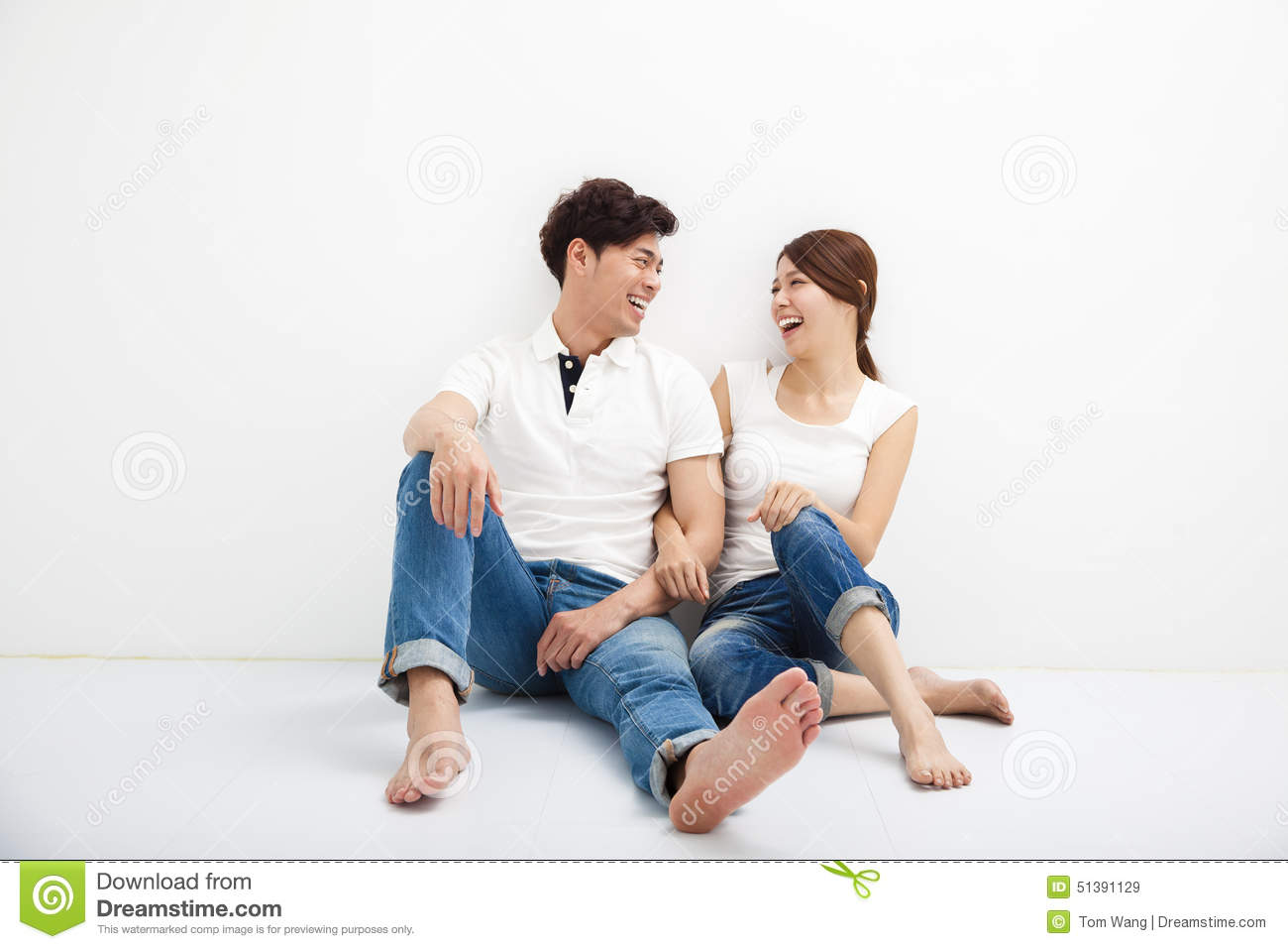 image Real love couple enjoying foot sex