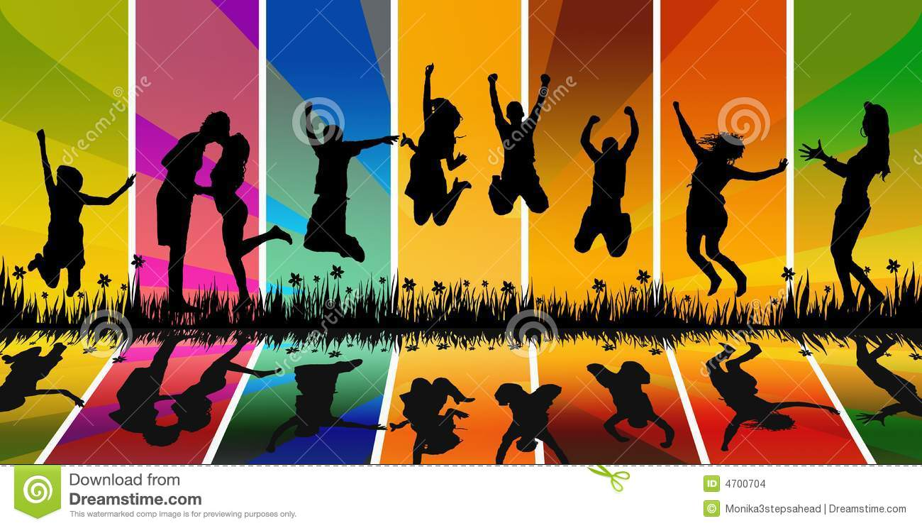 Happy Young People Jumping Stock Images Image 4700704 : happy young people jumping 4700704 from www.dreamstime.com size 1300 x 744 jpeg 127kB
