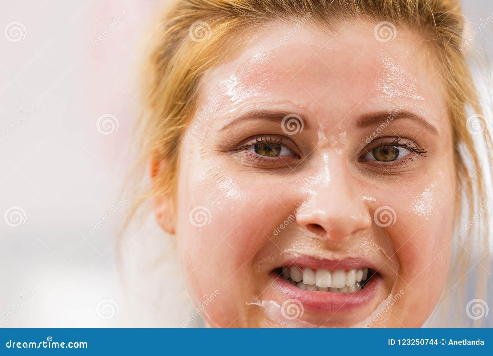 having dry skin