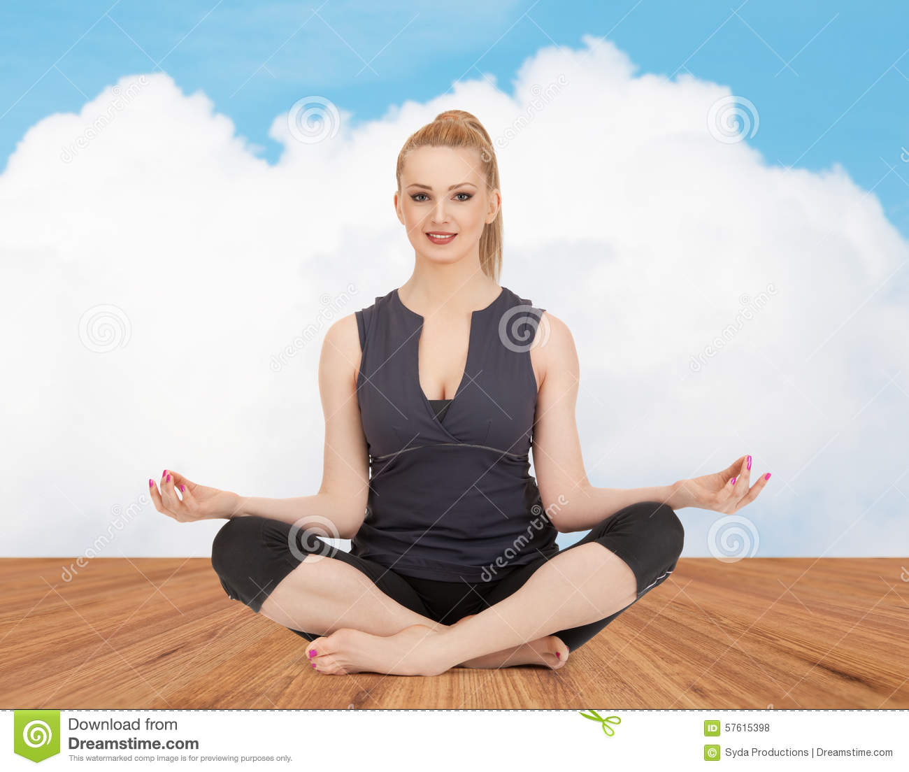 Lotus pose is a guarantee of health 50