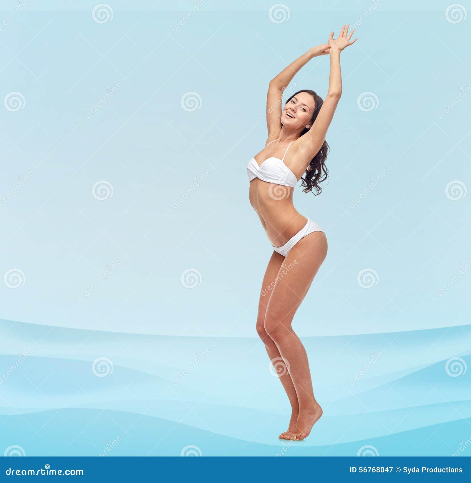 dancing in a bikini