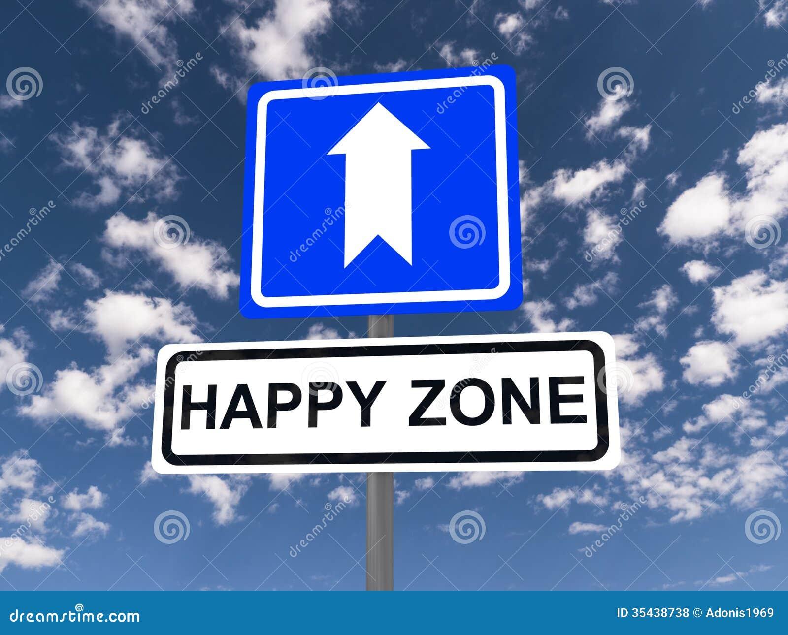 Turn around sign stock image image 35488961 - Happy Zone Sign Royalty Free Stock Photos