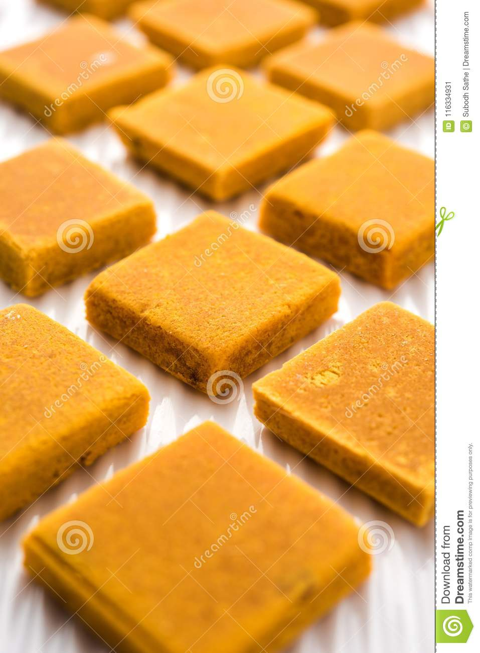 Hapus Amba Vadi Burfi Or Alphonso Mango Dried Cake Or Bar