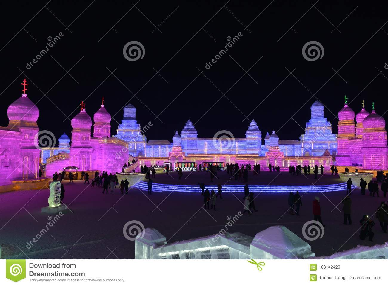 Harbin International Ice and Snow Sculpture Festival 2018