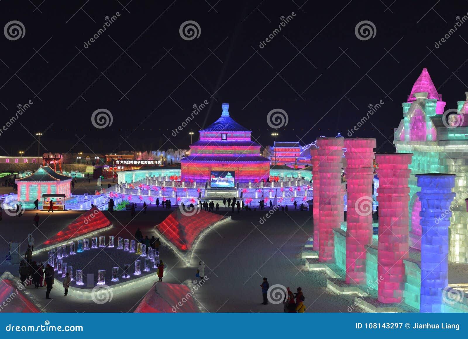 Harbin International Ice and Snow Sculpture Festival 2018