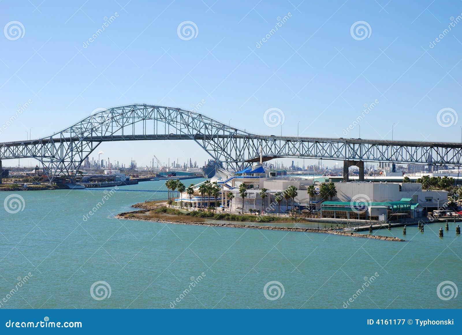Harbor Bridge in Corpus Christi