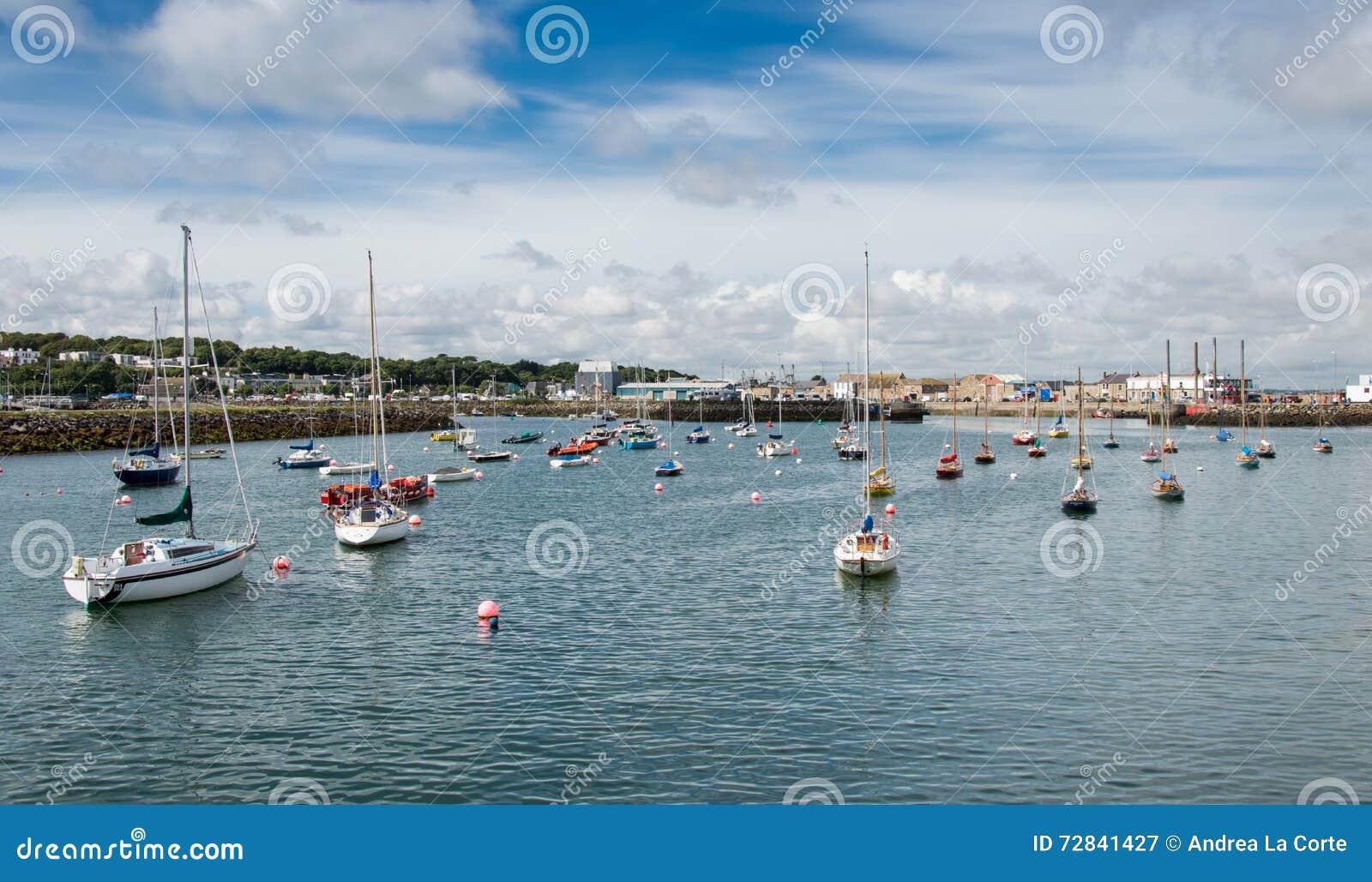 Harbor of Dublin Howth