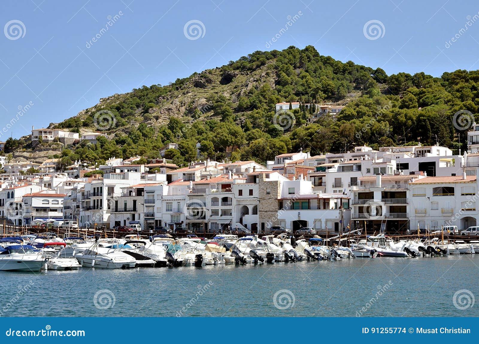 Harbor El Port De La Selva In Spain Editorial Stock Image Image