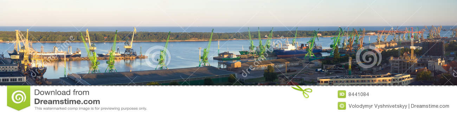 Harbor Klaipeda