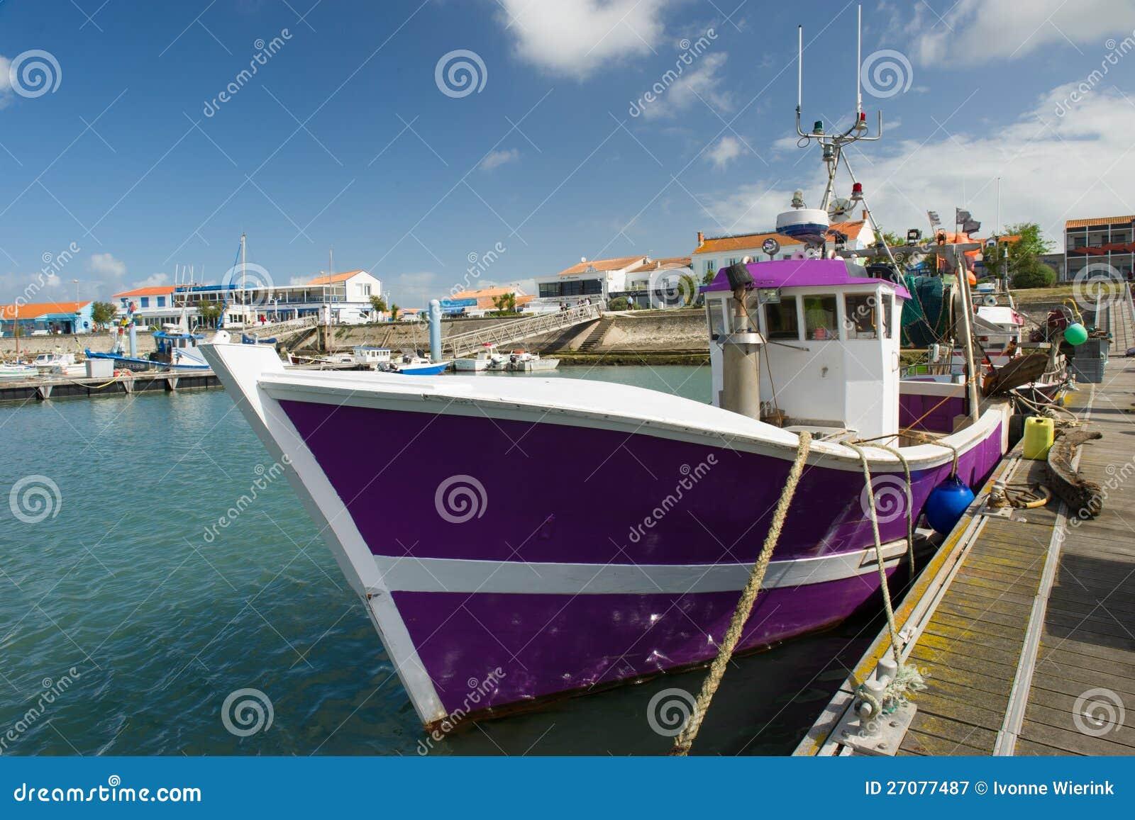 Harbor La Cotinière Oleron France