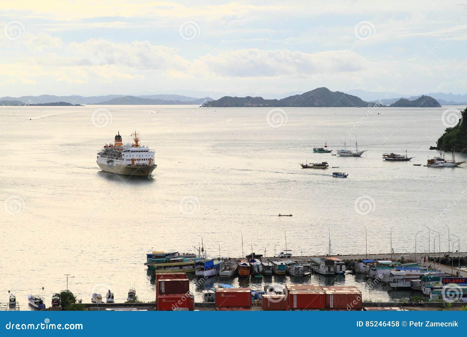 Harbor in Labuan Bajo