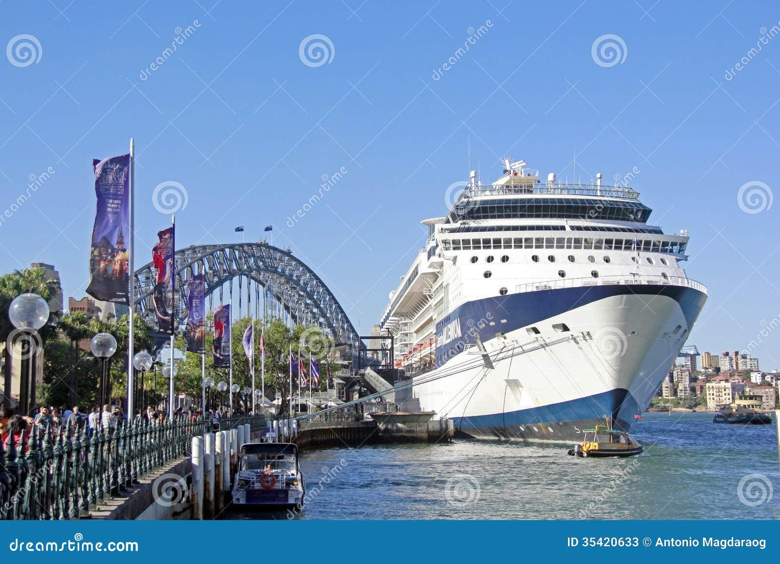 Harbour Bridge Sydney Australia Editorial Stock Photo