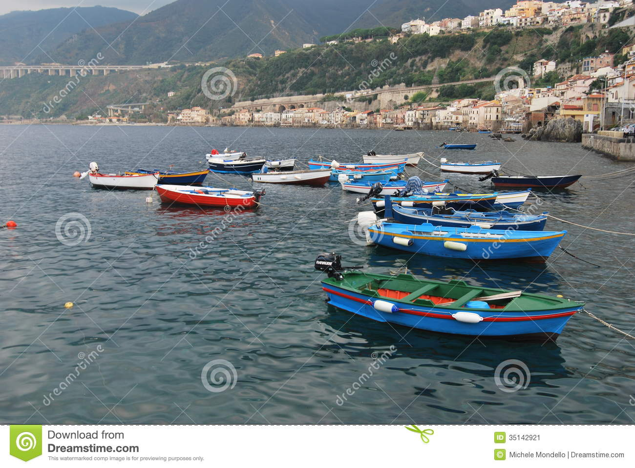 Harbour of Chianalea - Southern Italy