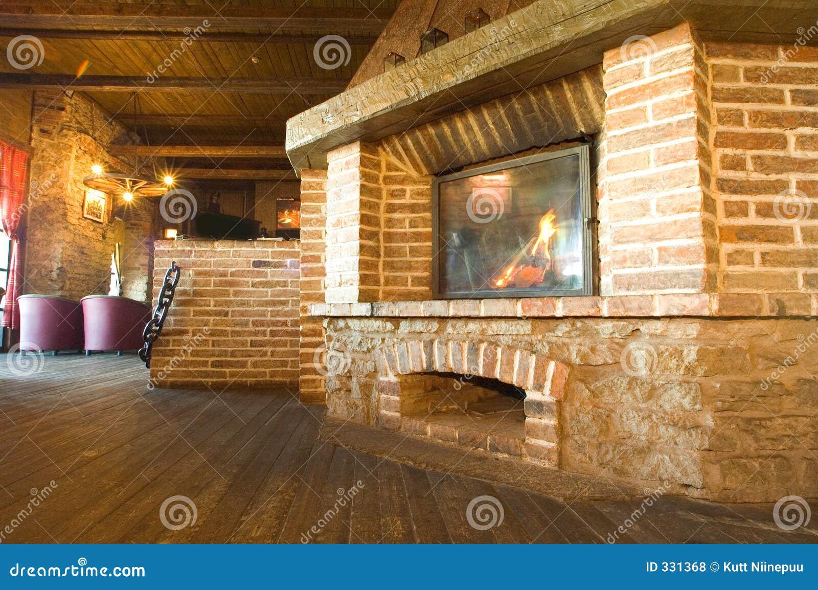 Harbour Tavern Fireplace Royalty Free Stock Photos - Image: 331368