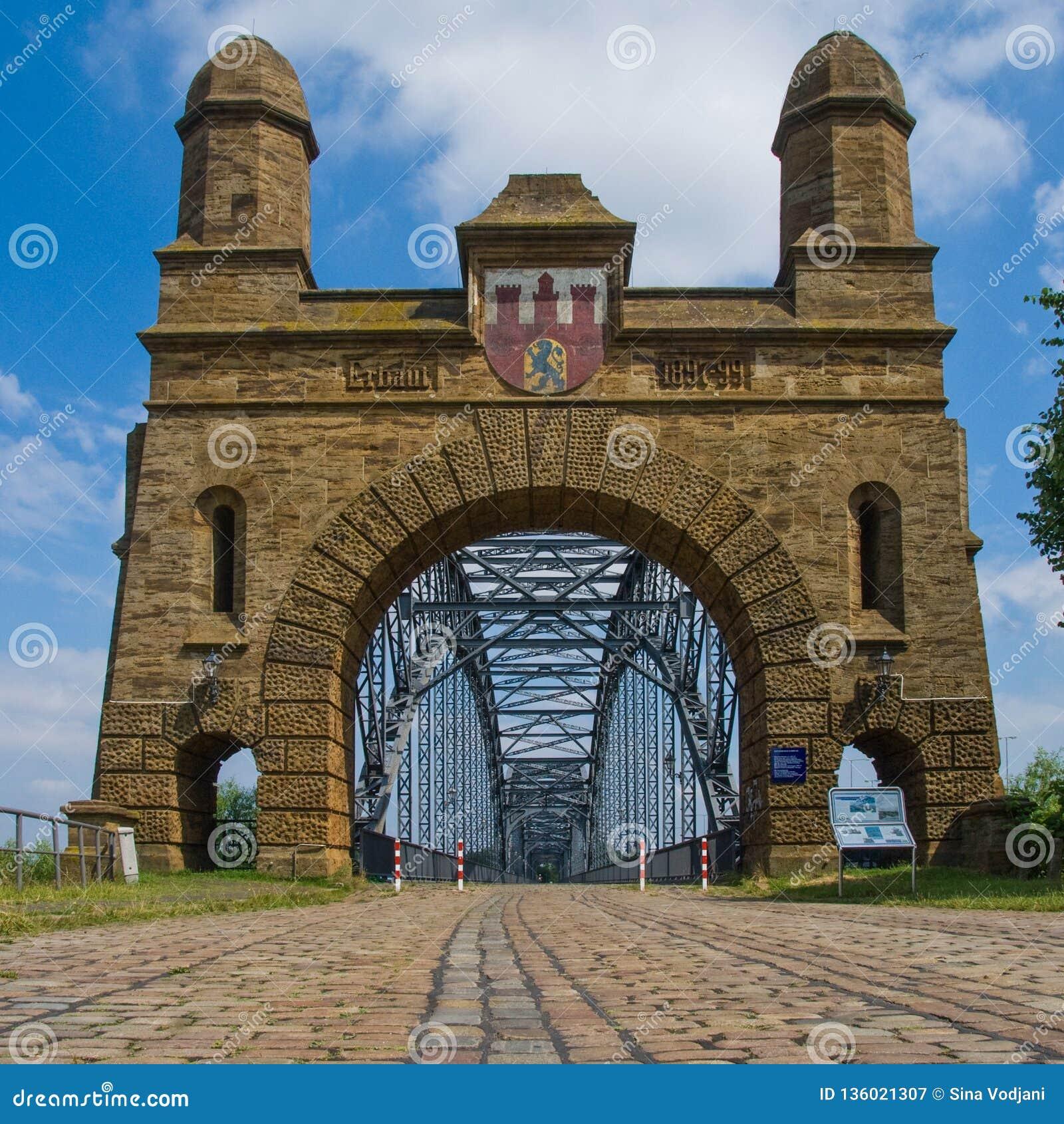 Harburg bro över Elben