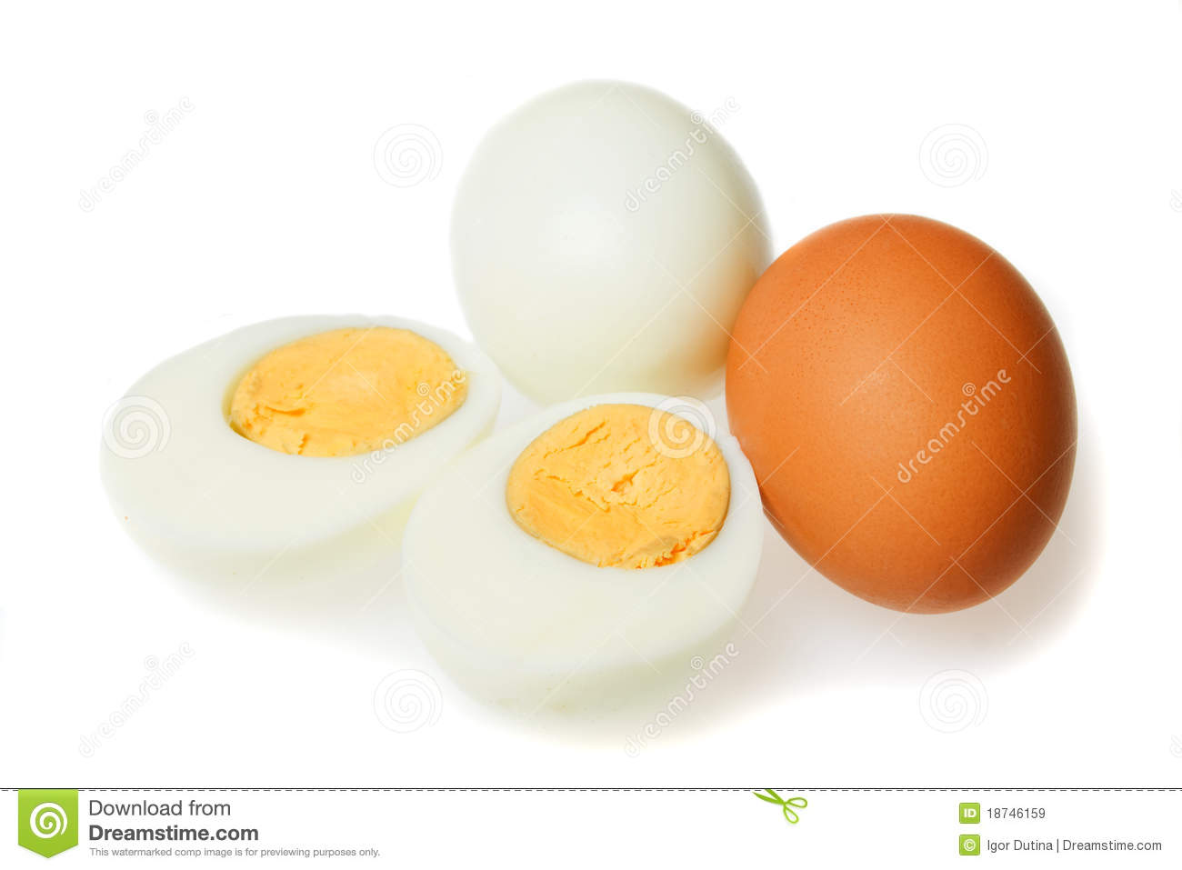 hard boiled eggs royalty free stock images image 18746159