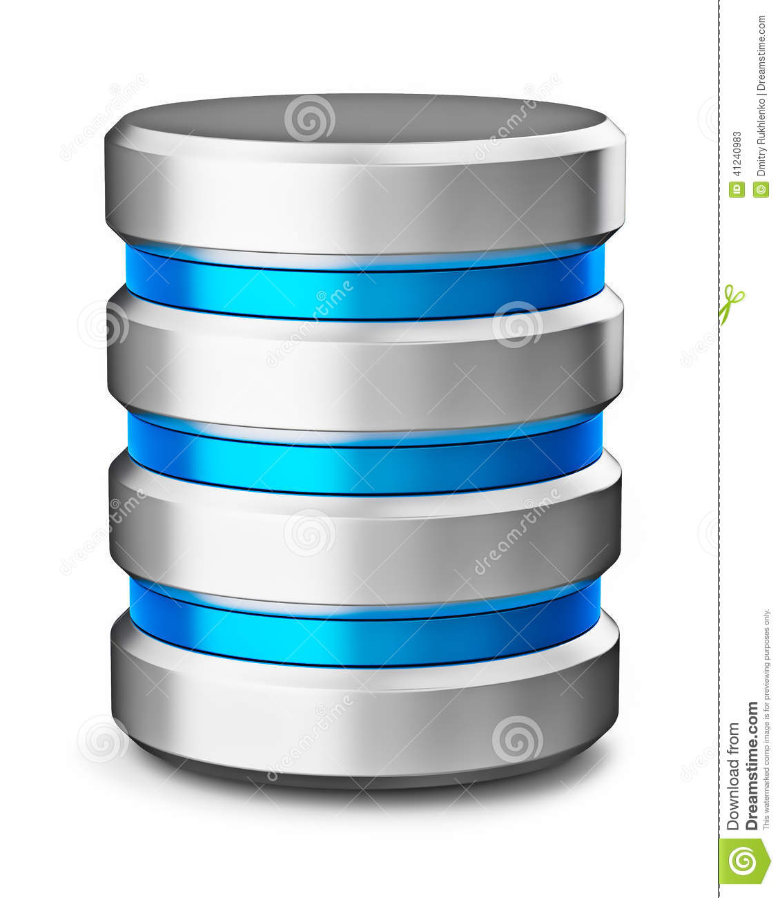 Backup Image Hard Disk Drive Data Storage Database Icon Symbol Stock