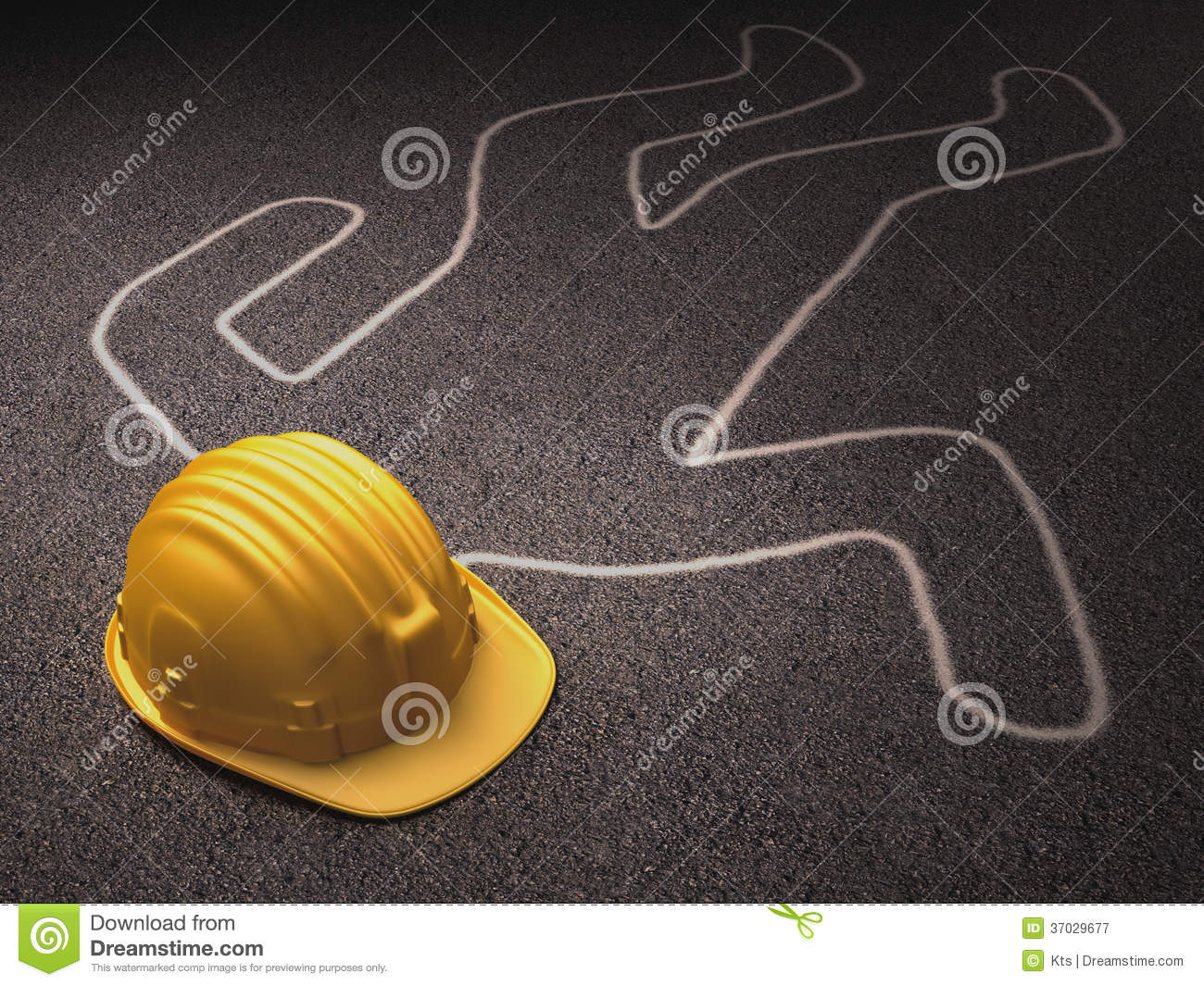 hard hat outline royalty free stock photography