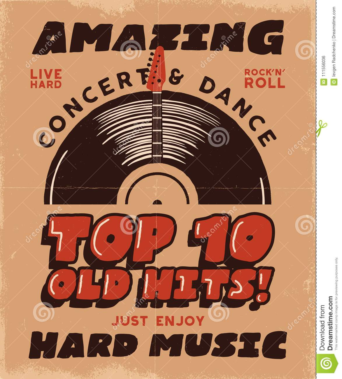Hard Music Poster Concert And Festival Tee Graphic Design Retro