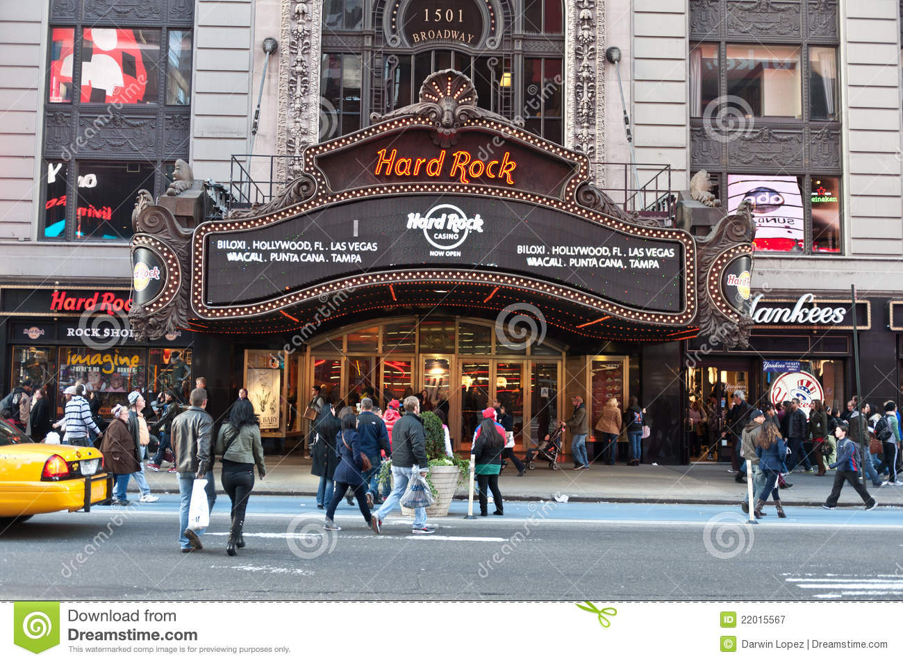Hard Rock Cafe Times Square