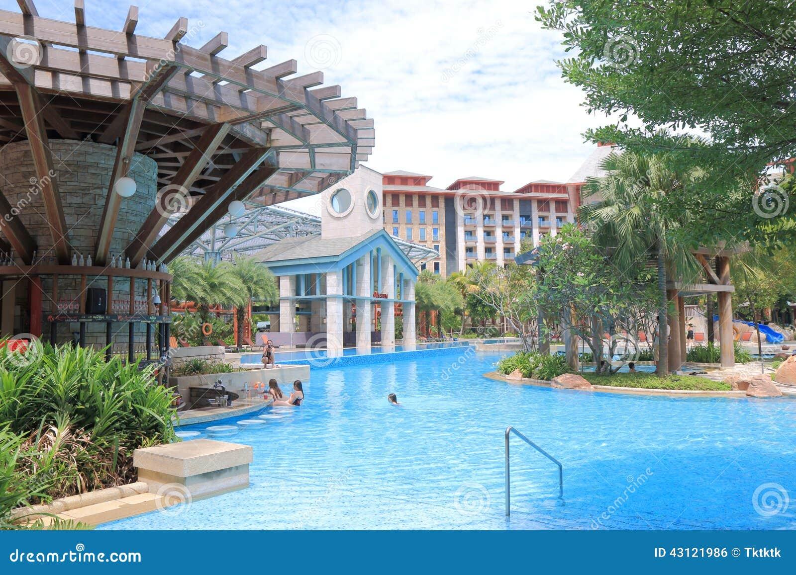 hard rock hotel sentosa singapore editorial photo - image: 43121986
