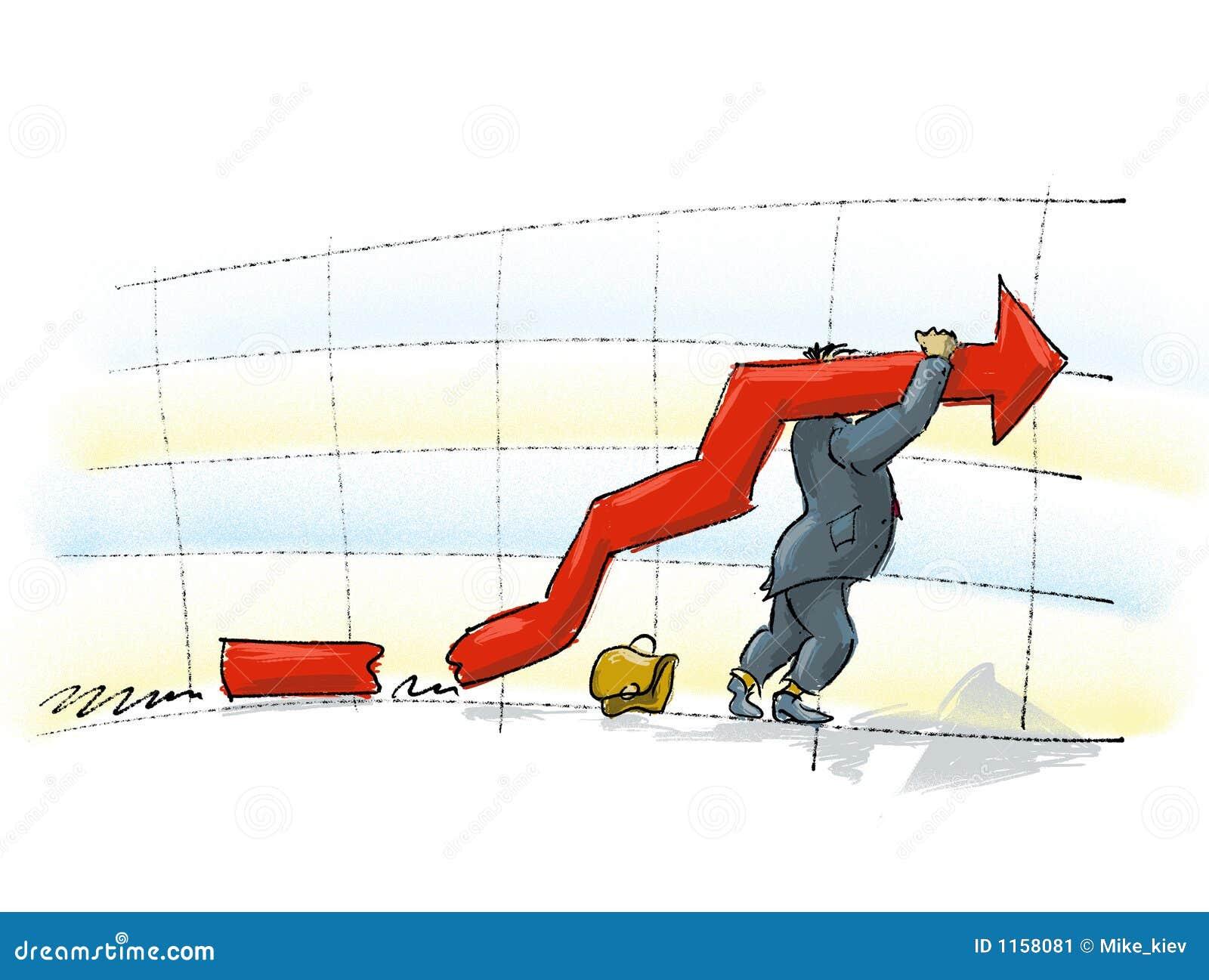 Download Hard work stock illustration. Illustration of hard, diagram - 1158081