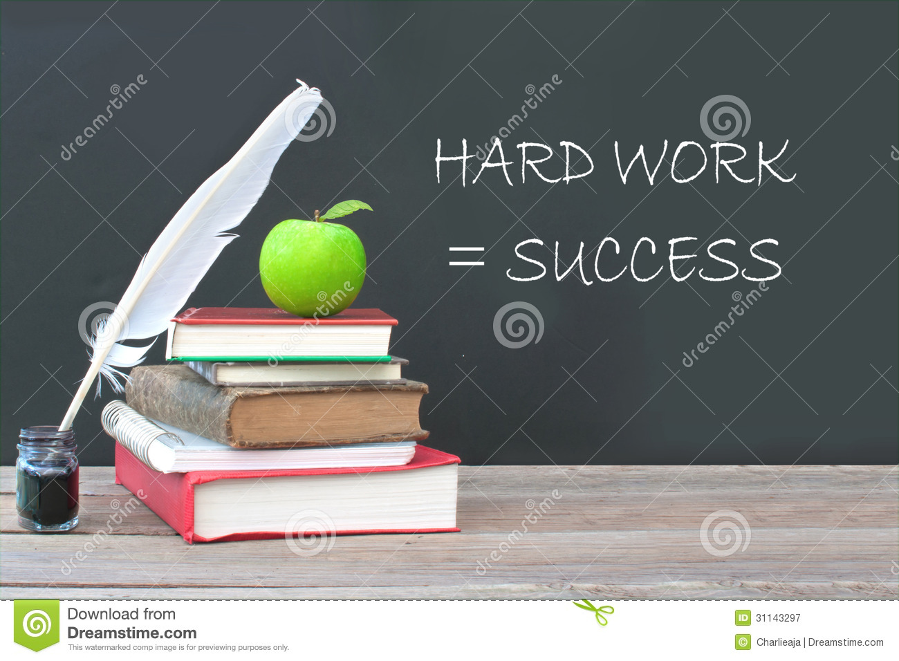 essay on success comes after hard work