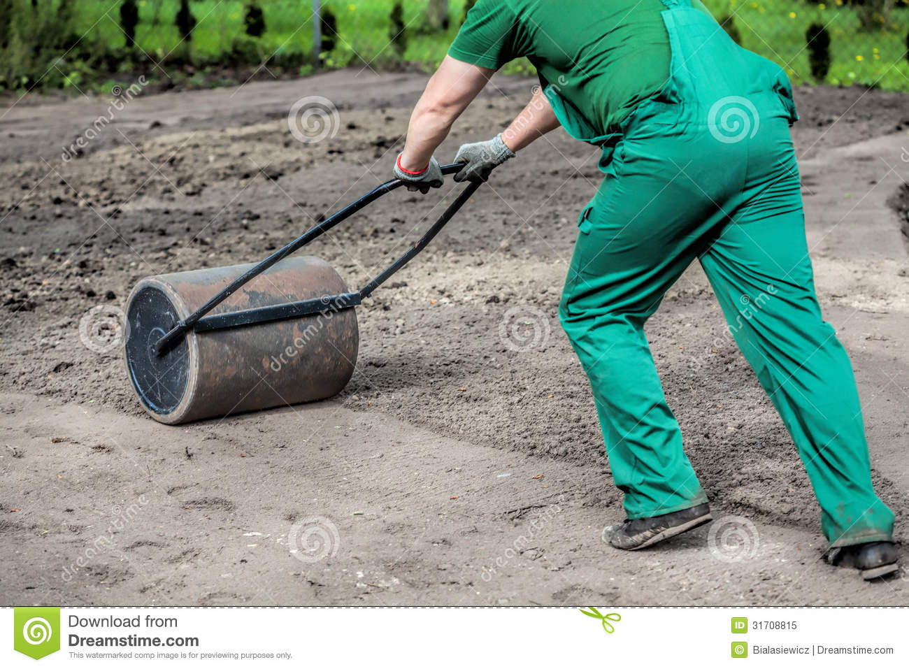 Hard Work In Garden Royalty Free Stock Photo Image 31708815