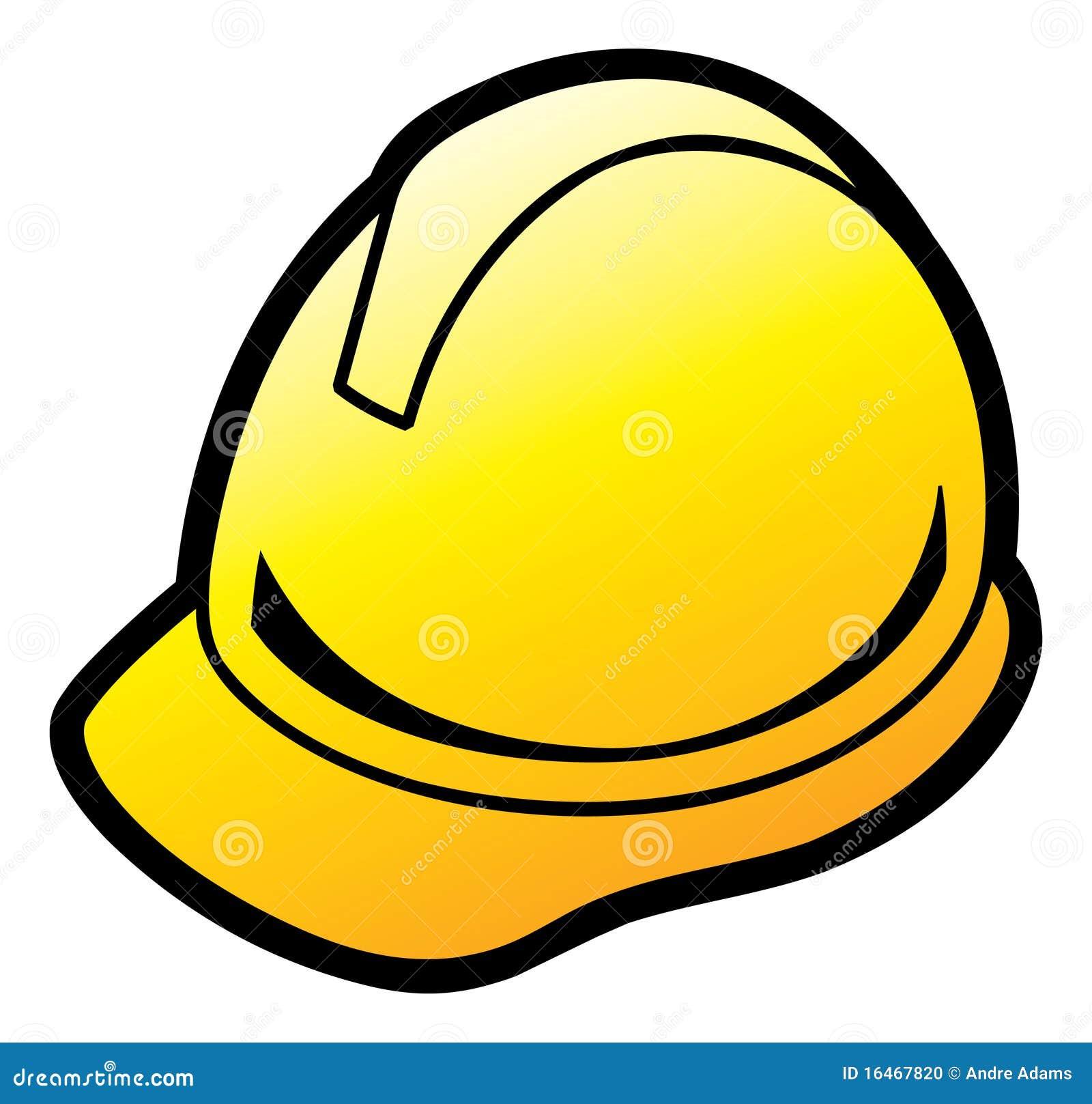 yellow hard hat clipart - photo #38