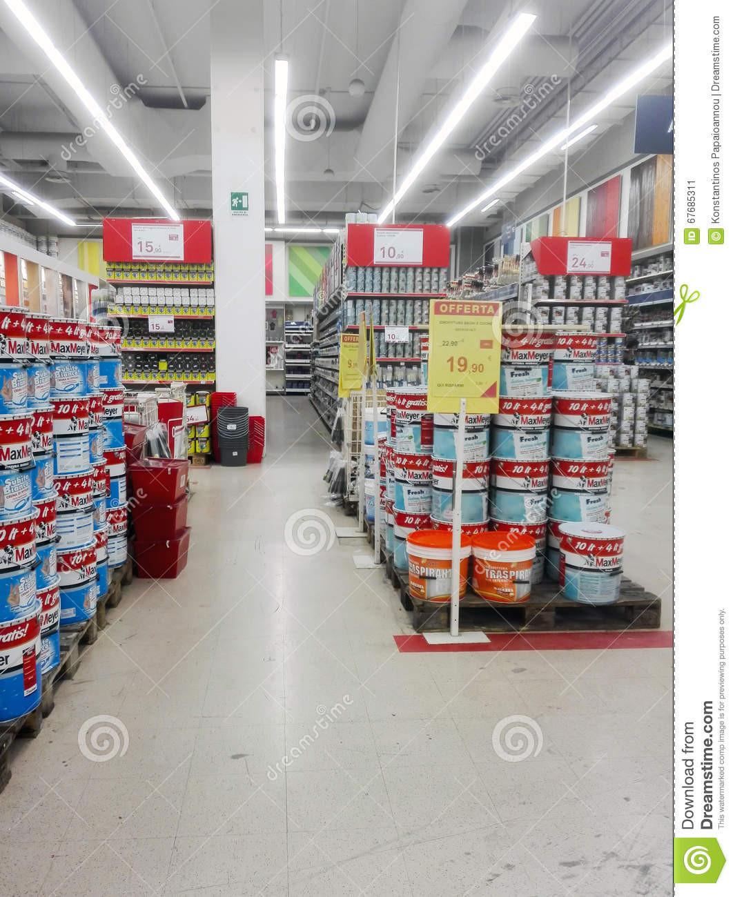 Hardware Store Editorial Photo Image 67685311