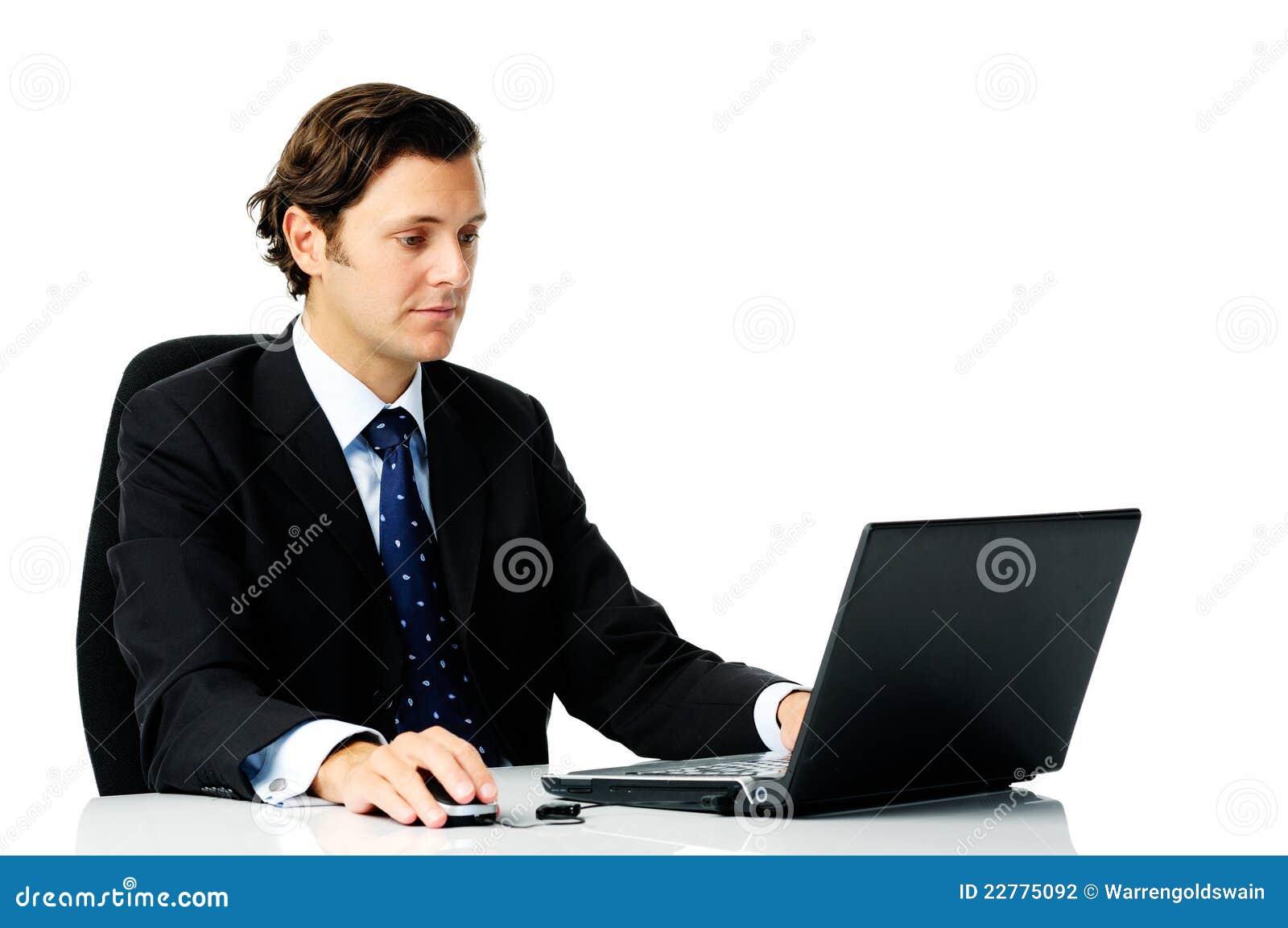 Hardworking Businessman Stock Photography - Image: 22775092