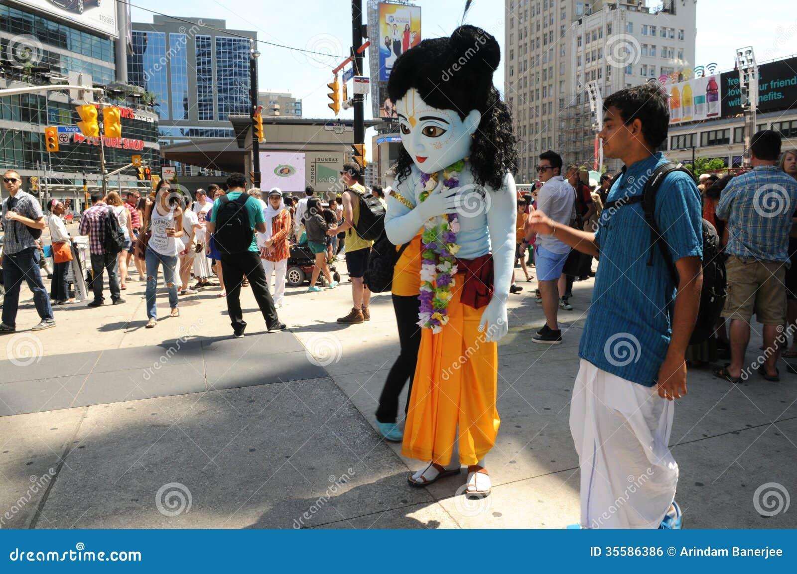 Hare Krishna Rally.
