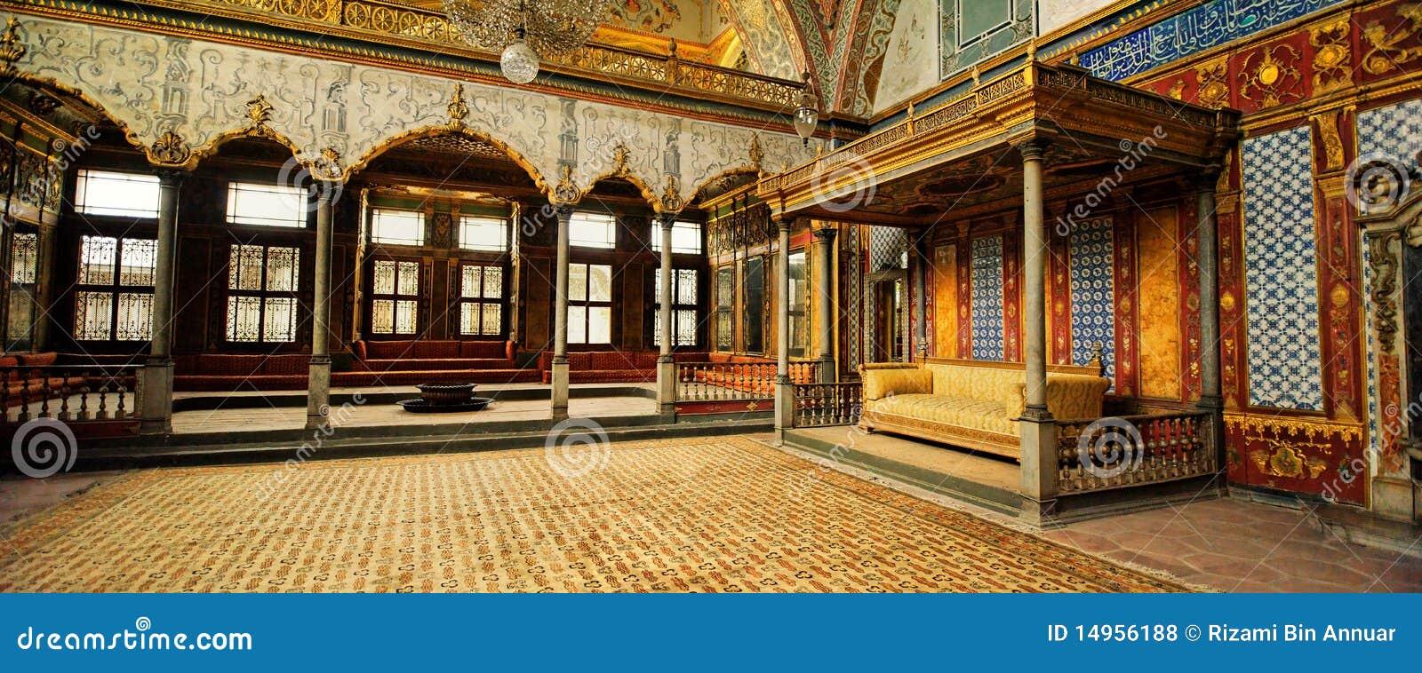 Harem nel palazzo di Topkapi, Costantinopoli, Turchia