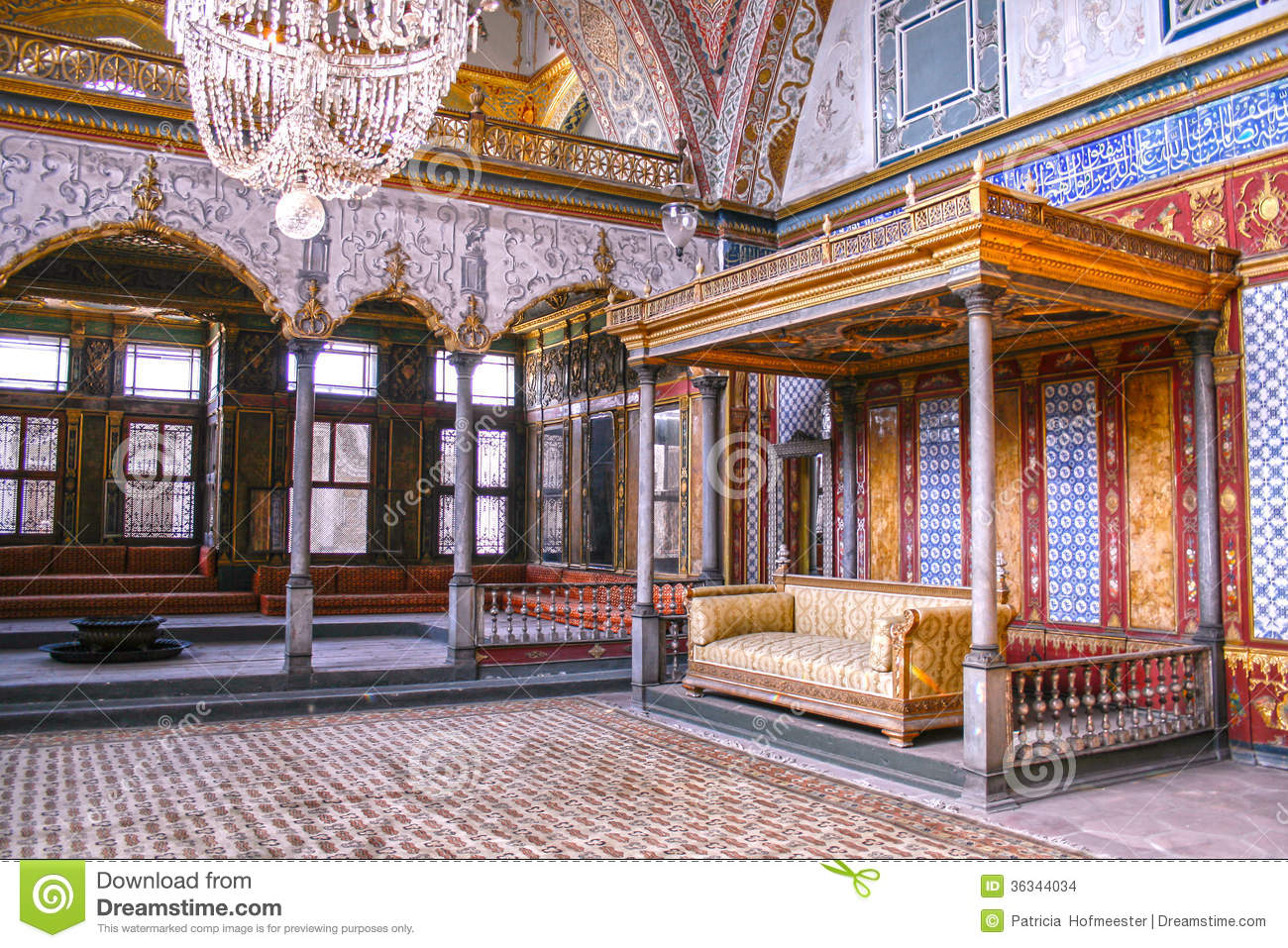 Harem In Topkapi Palace Stock Images Image 36344034