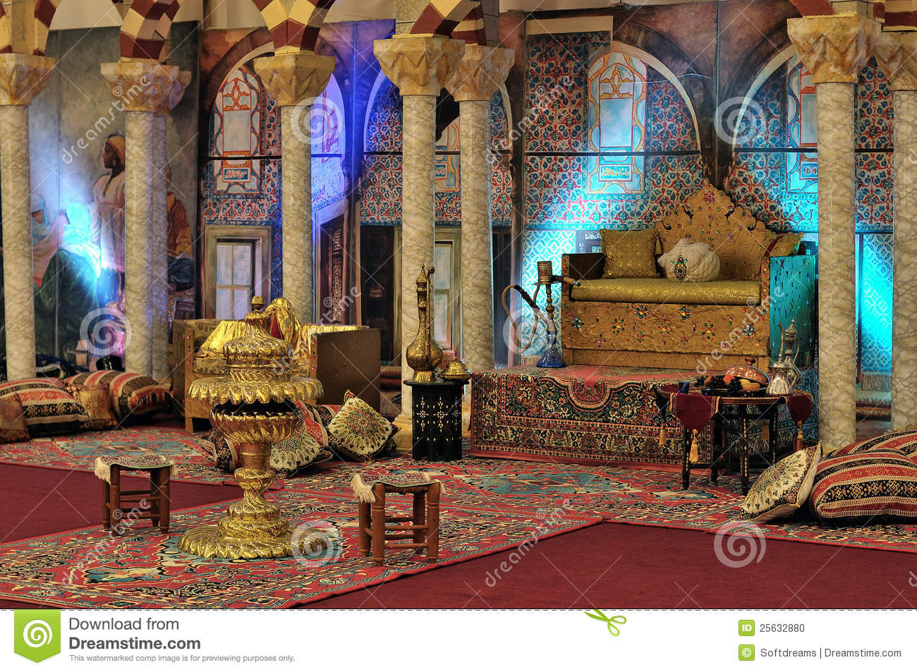 Harem At The Topkapi Palace In Istanbul Editorial Image