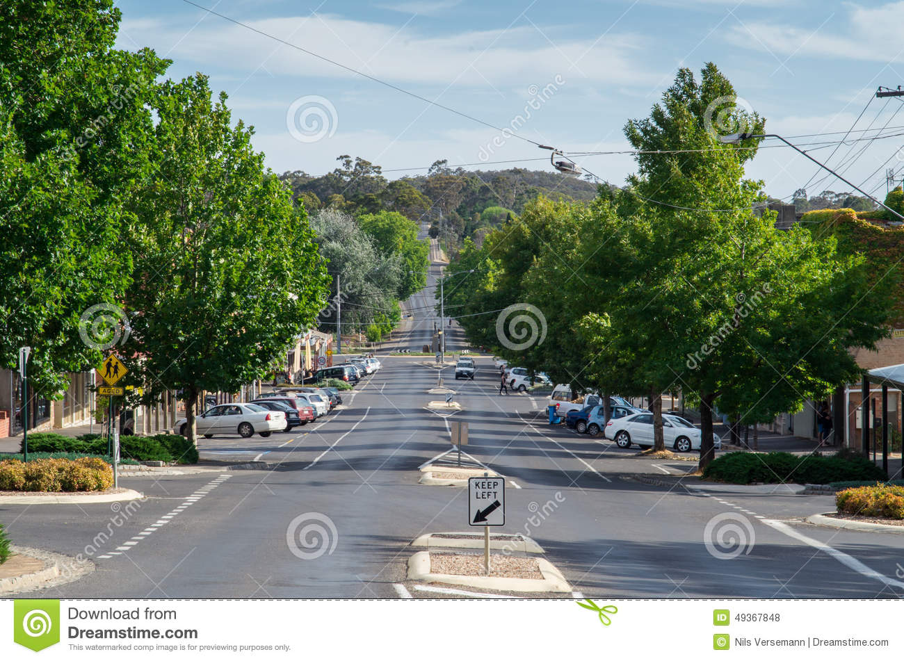 Hargraves Street in Castlemaine