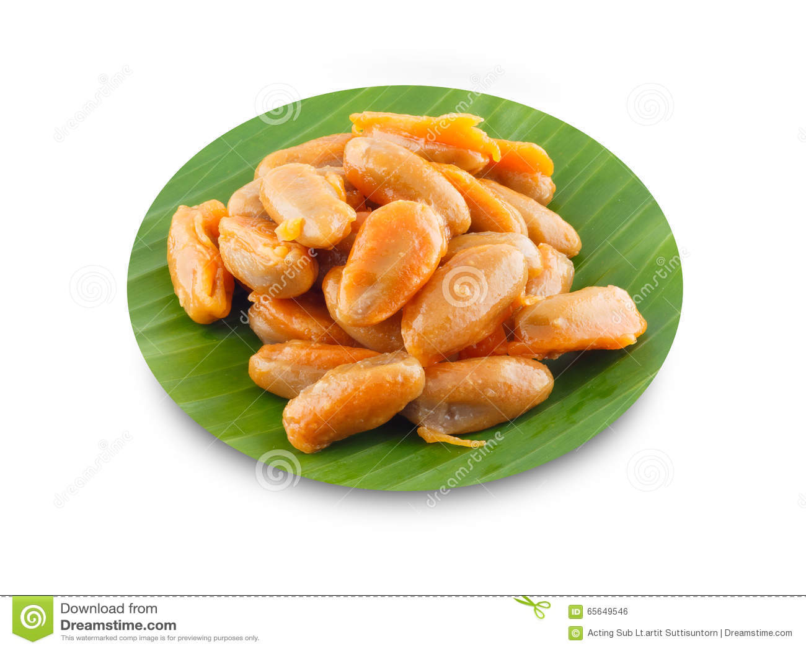 Haricot-pâte, dessert traditionnel thaïlandais