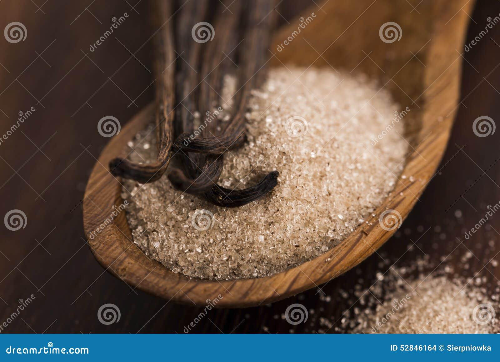 Haricots de sucre et de vanille