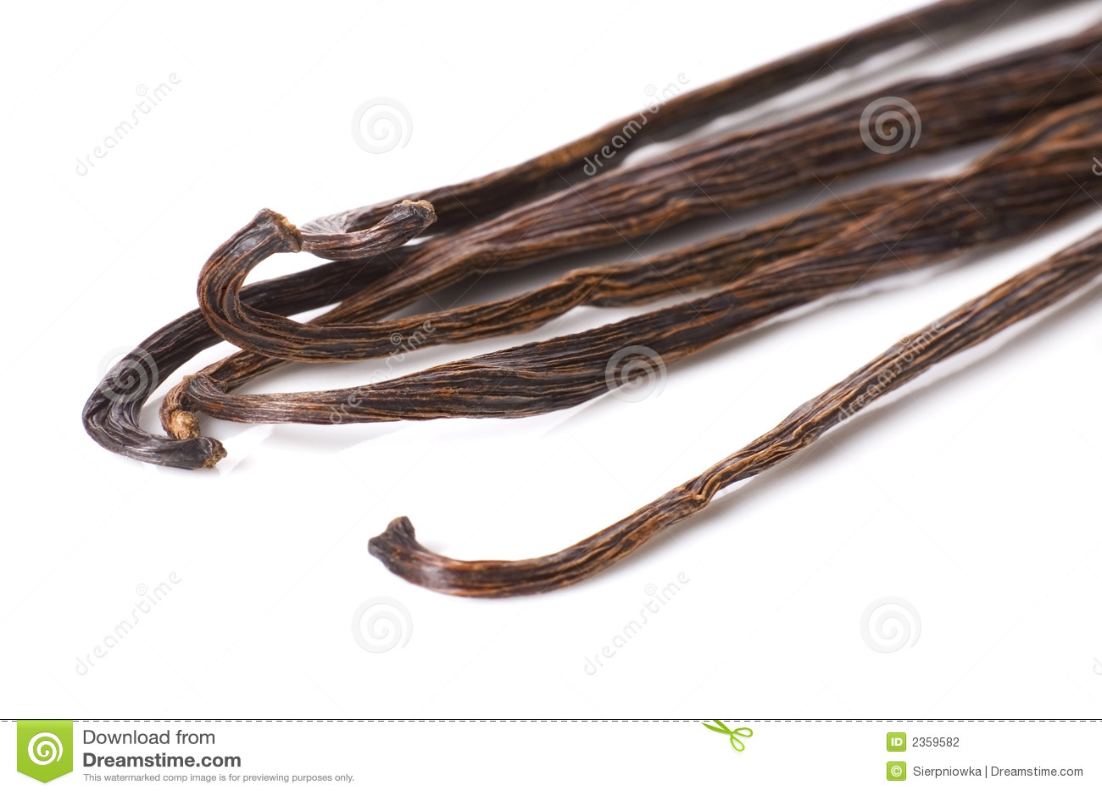 Haricots de vanille