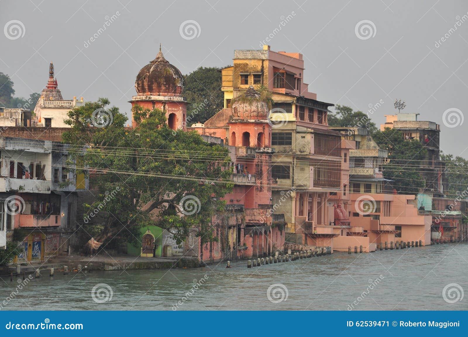 Haridvar, Uttarakhand,印度 恒河