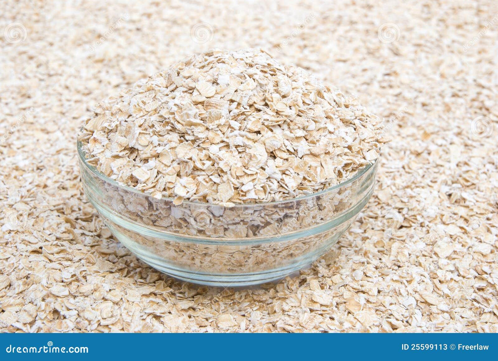 Harina de avena cruda imagen de archivo imagen de oatmeal - Cocinar harina de avena ...