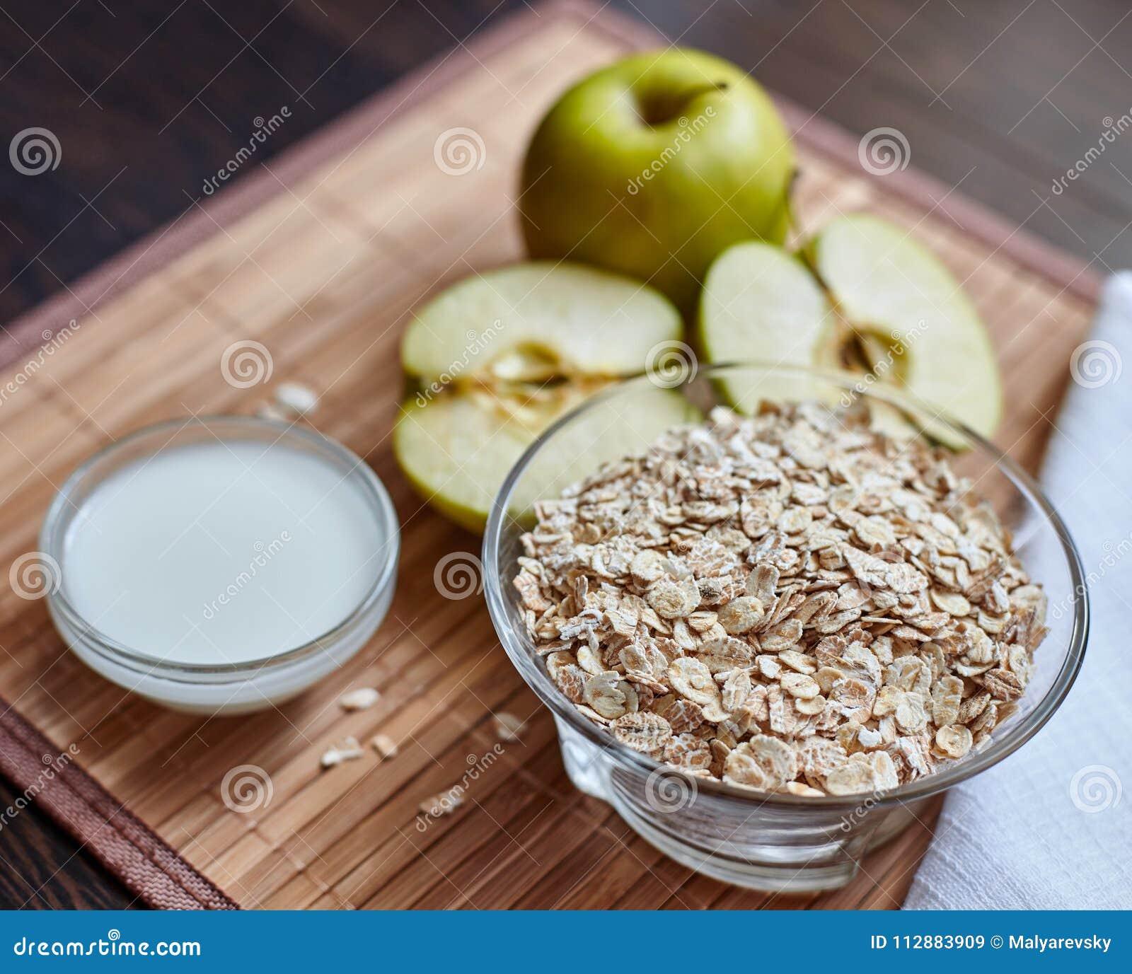 Dieta de manzana verde avena y limon