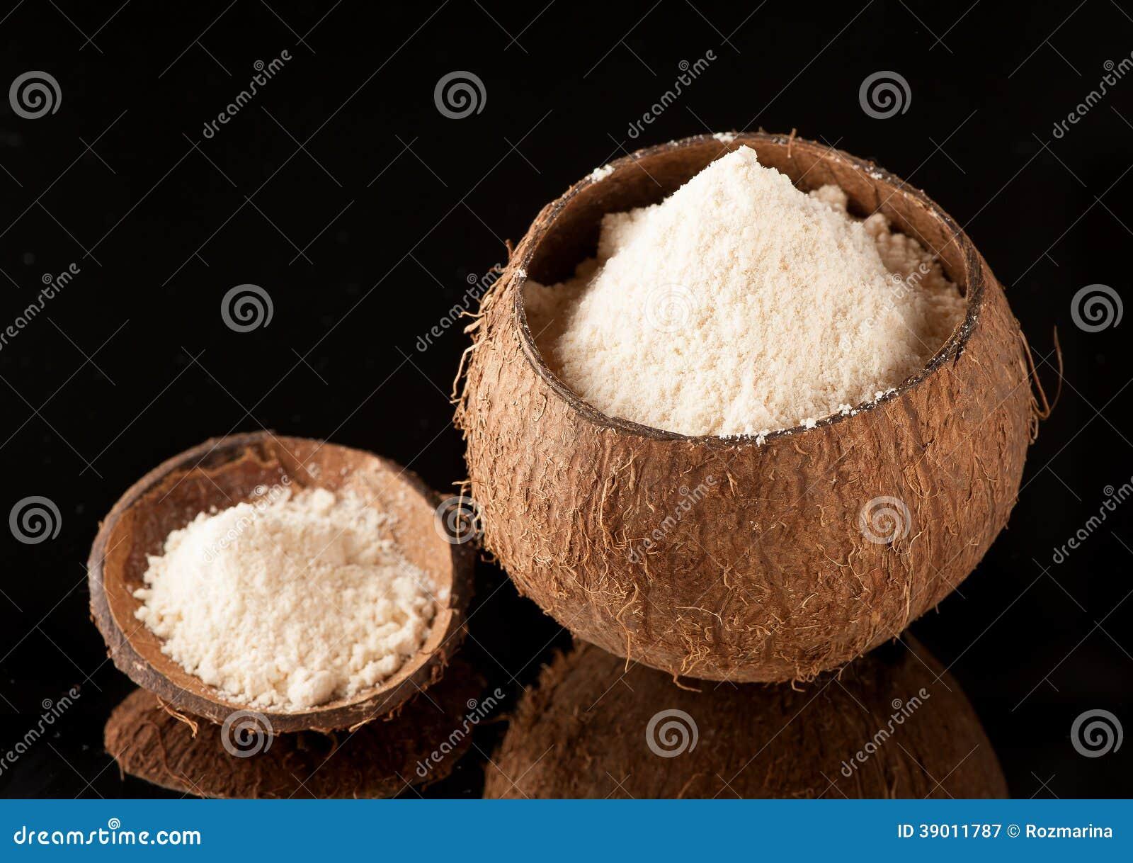 Harina del coco Gluten-libre