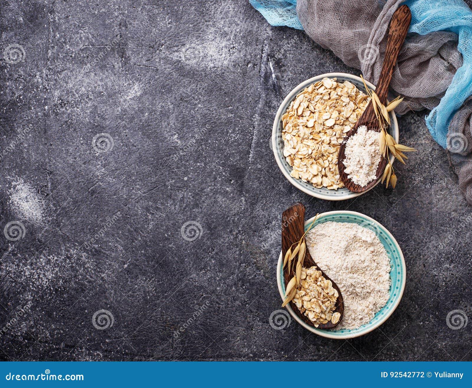 Harina libre de la avena del gluten