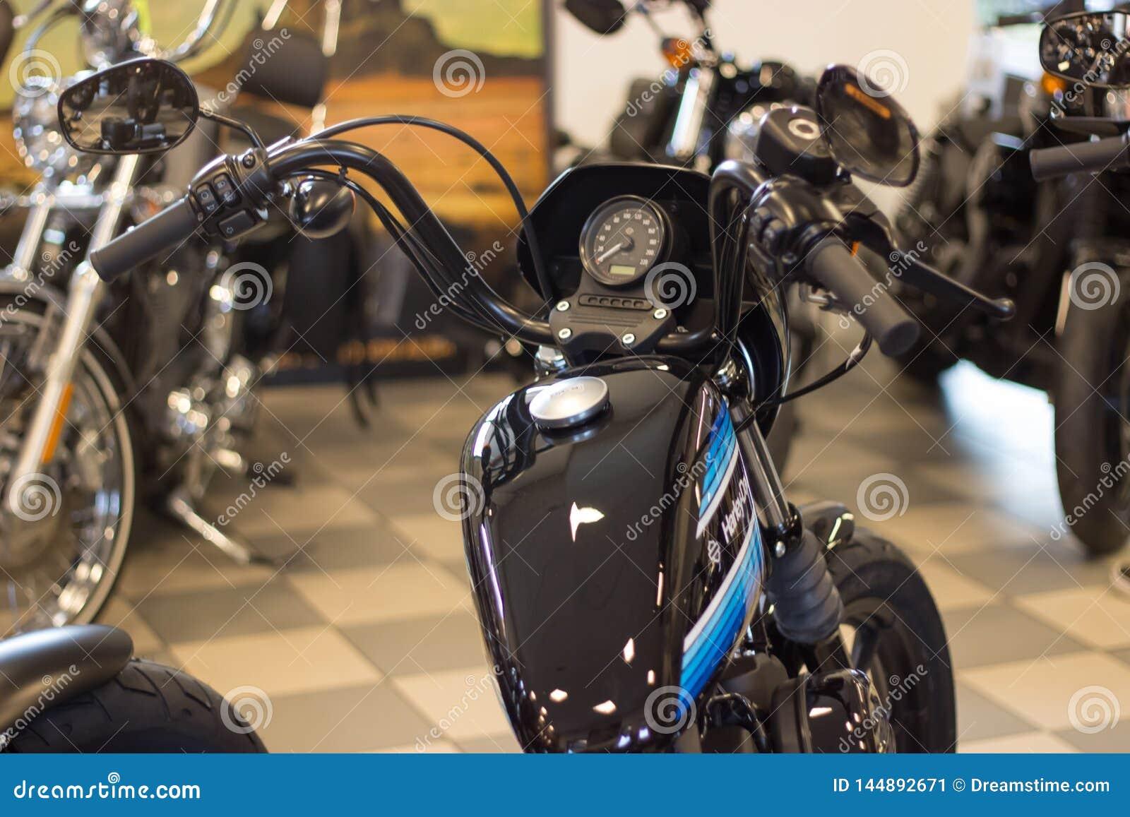Harley Davidson «Otwartego domu wydarzenie «w Włochy: Sportster model