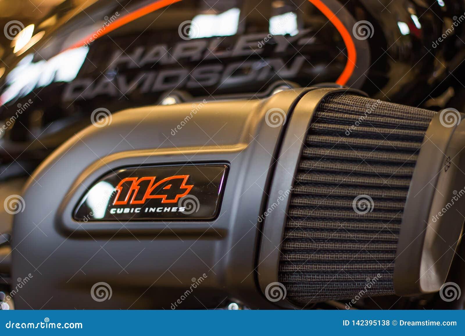 Harley Davidson 'Opendeurdaggebeurtenis 'in Italië, nieuwe FXDR 114
