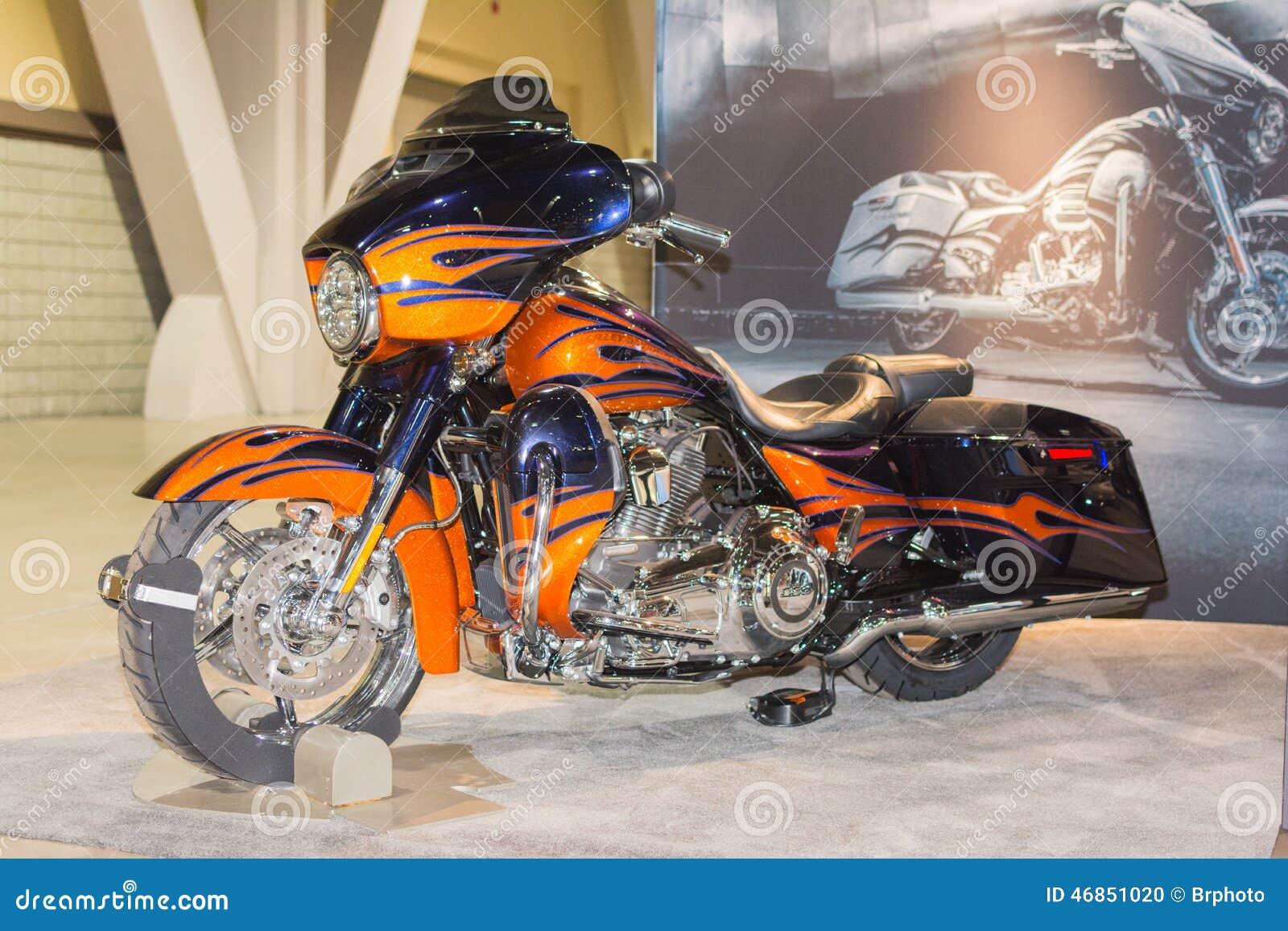 Harley Davidson Cvo Street Glide 2015 Editorial Image
