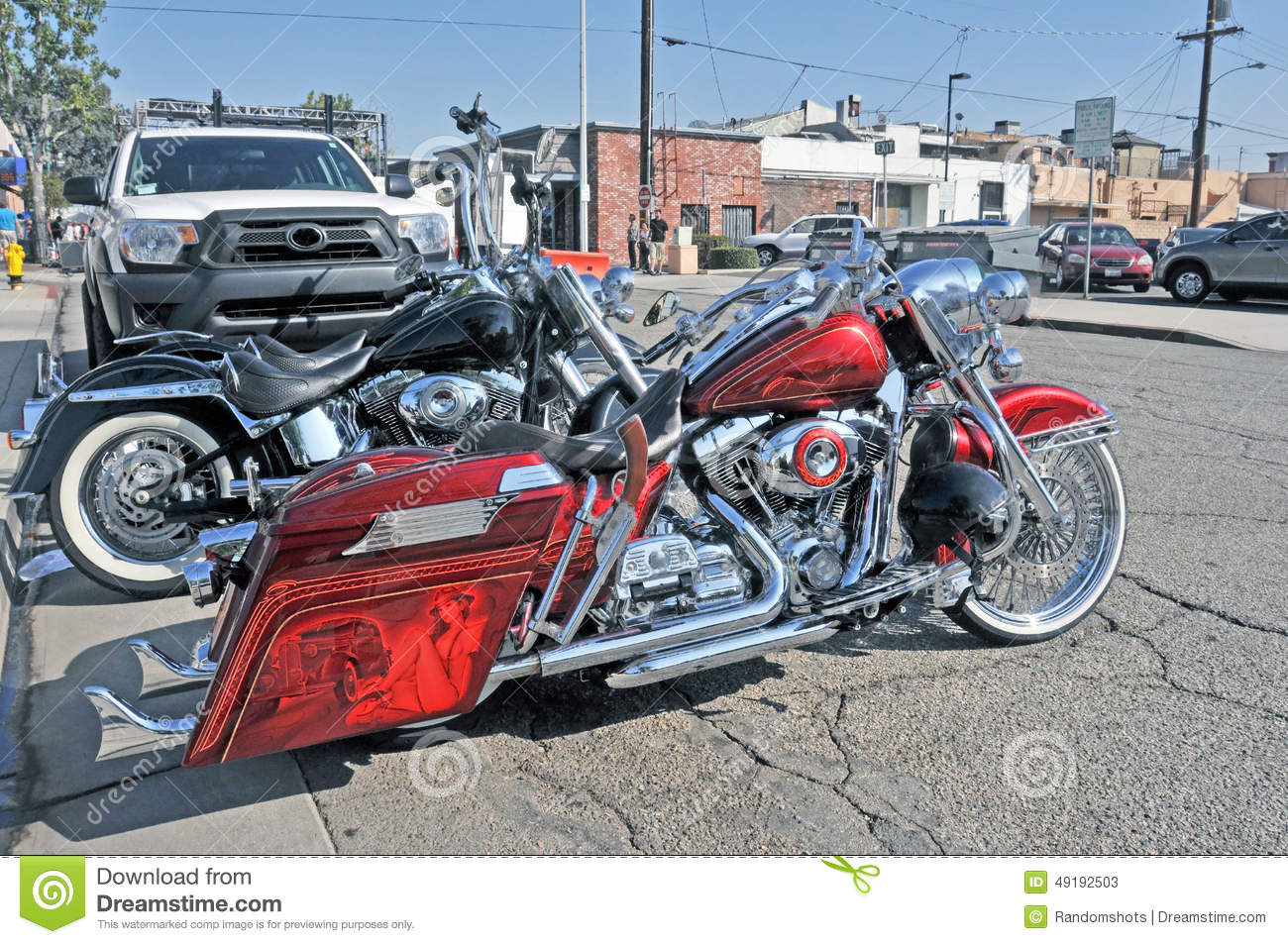 Harley Davidson Deluxe Editorial Stock Photo Image 49192503