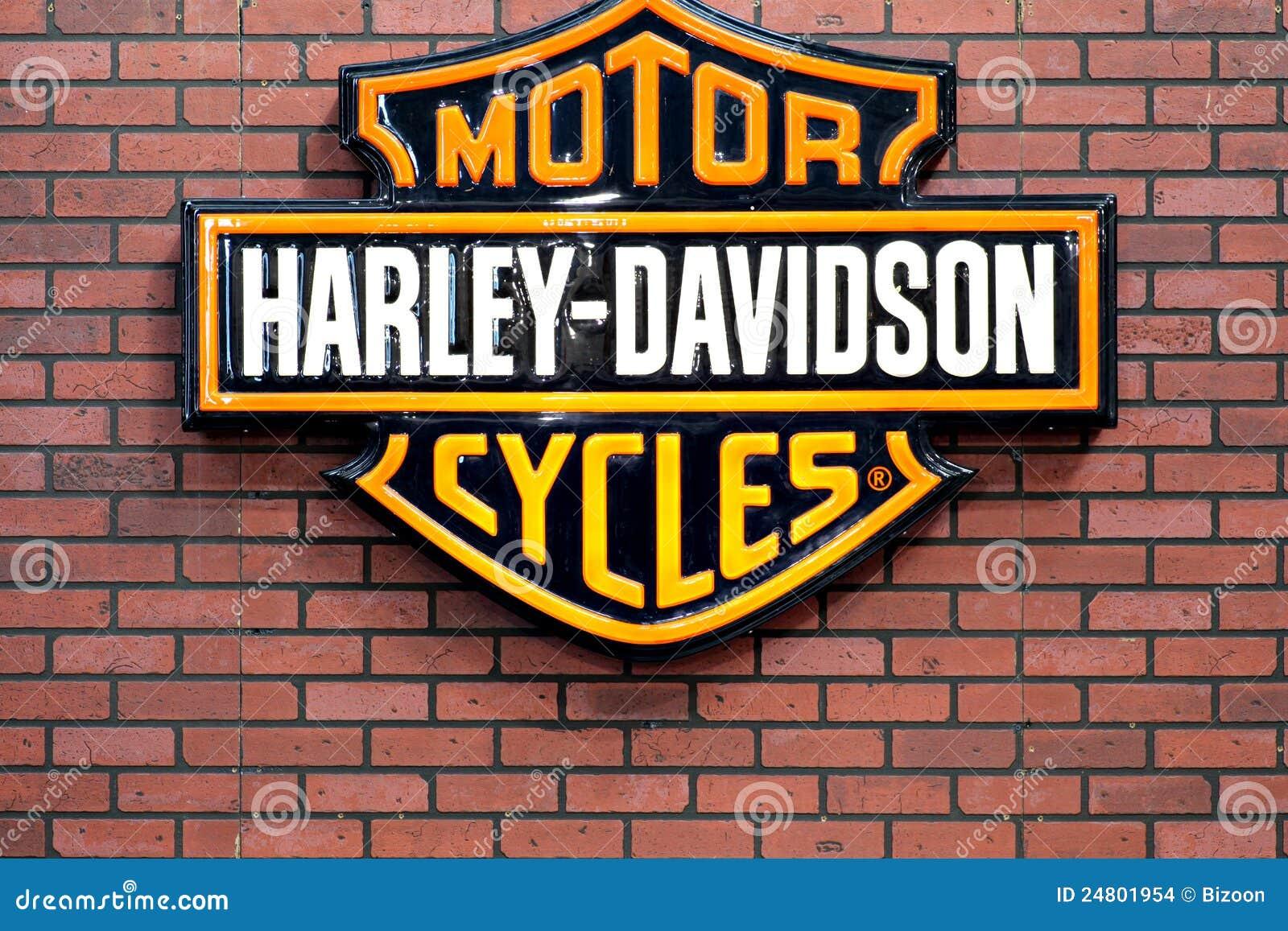 Harley Davidson Logo Editorial Stock Image - Image: 24801954